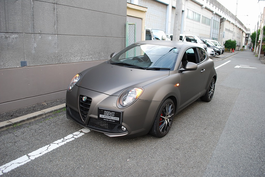 Alfa Romeo Mito >> Alfa Romeo Mito   東京のカーラッピング カー・ボディラッピングのHACへ