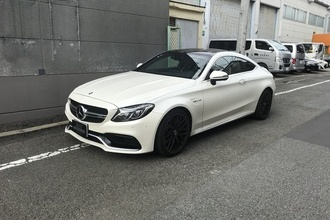 AMG C63S cupe